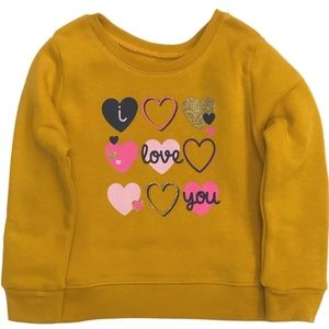 NWT 12 month Garanimals I love you sweatshirt